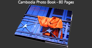 Cambodia Photo Book - 80 pages of color photographs of Cambodia and the Angkor Temples